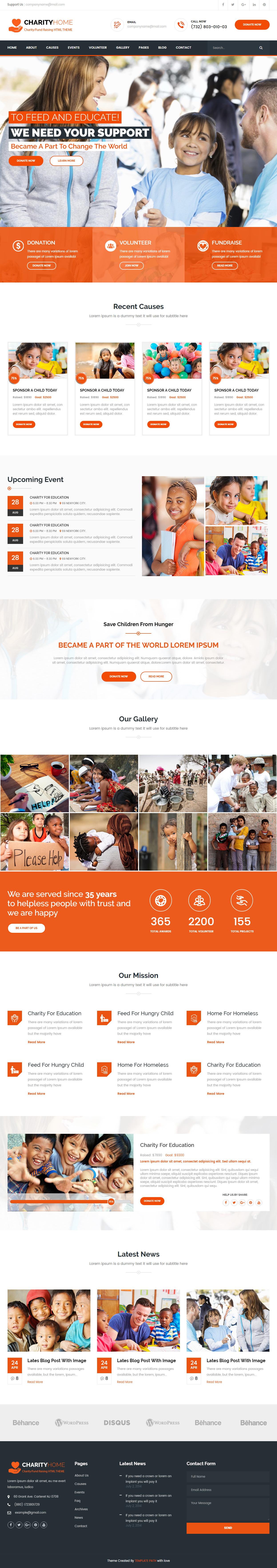 Fantastisch Kostenlose Charity Website Vorlagen Galerie - Entry ...