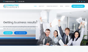 Consulting expert premium responsive consulting business html5 optimised for desktop flashek Choice Image