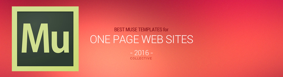15+ Best One Page Muse Templates 2017 - Responsive Miracle