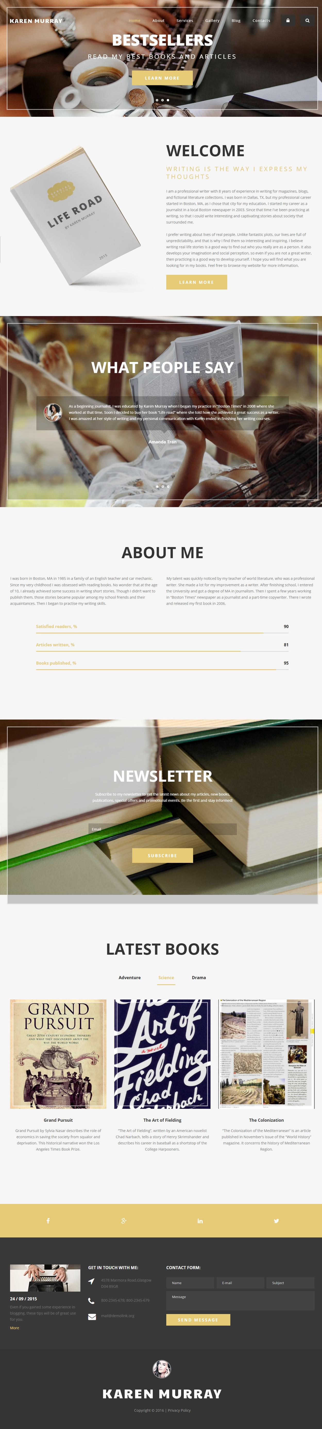 Best freelance writer websites designed