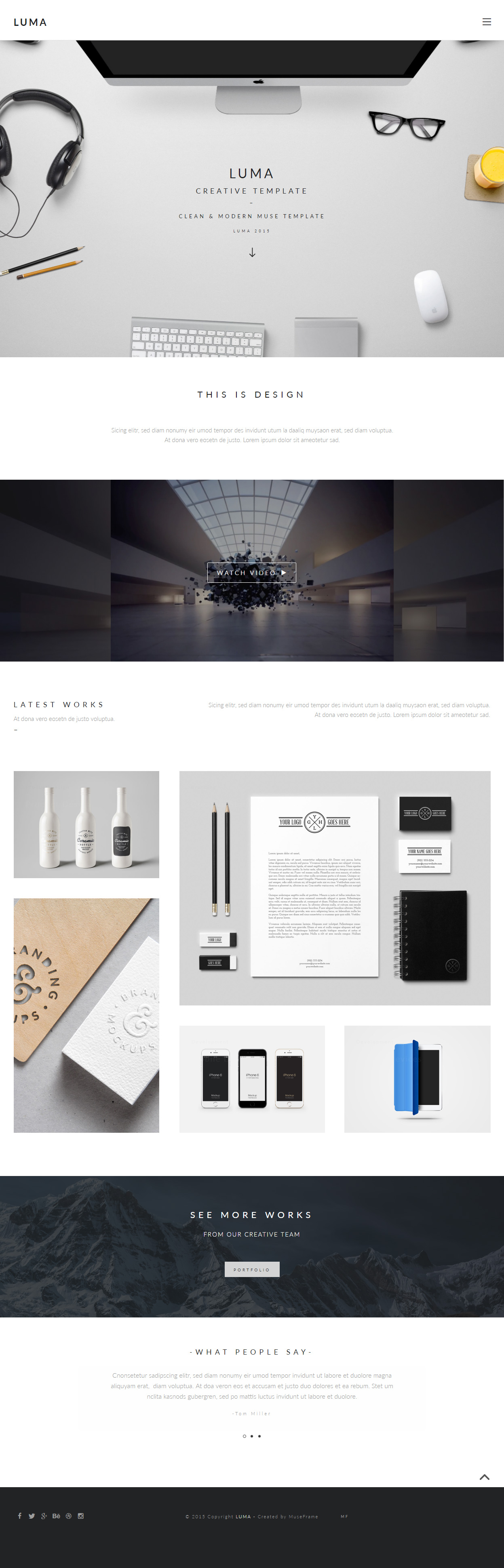 5 best photography muse template in 2016 responsive miracle luma photography muse template pronofoot35fo Images