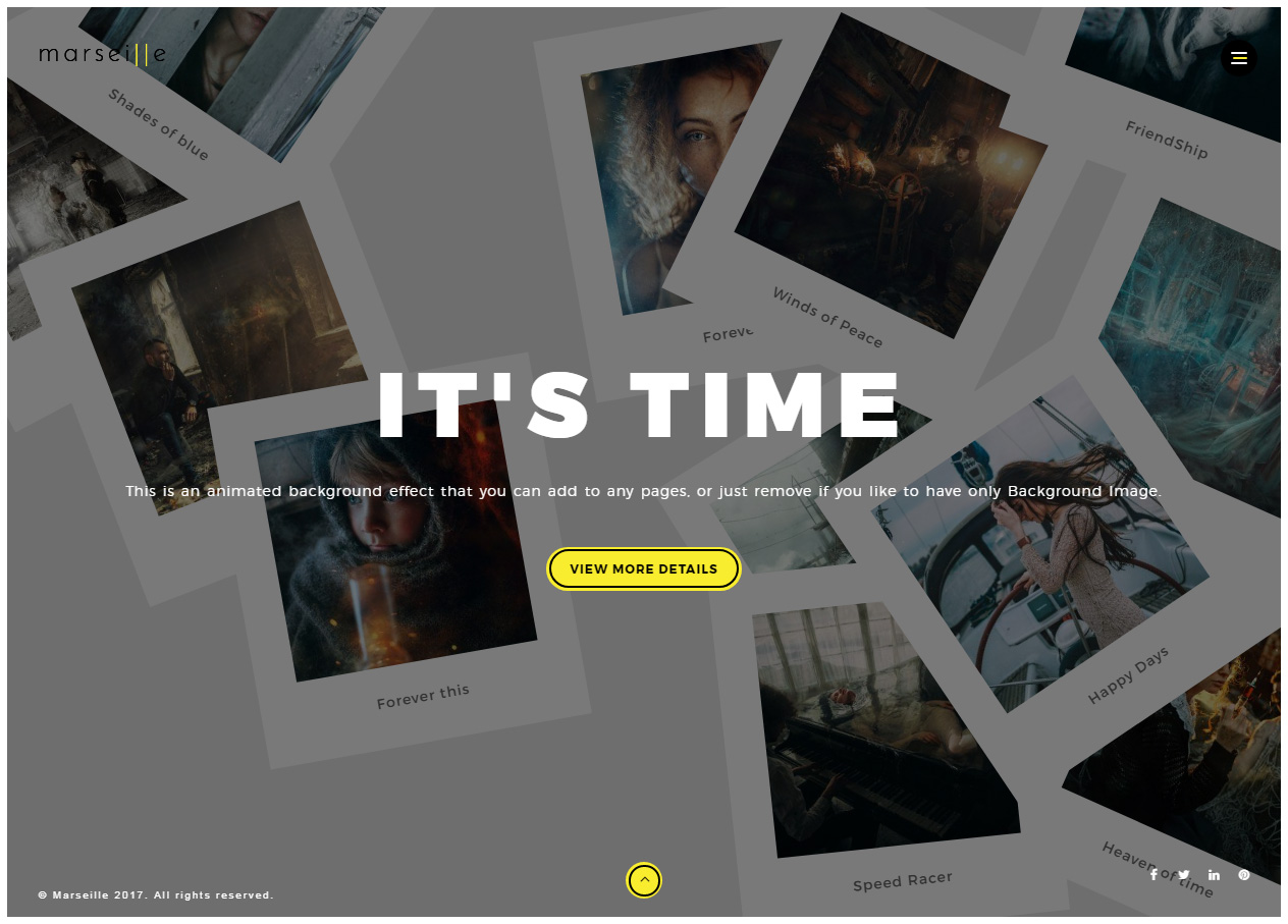 40 Best HTML5 Photography Website Templates 2017 - Responsive Miracle