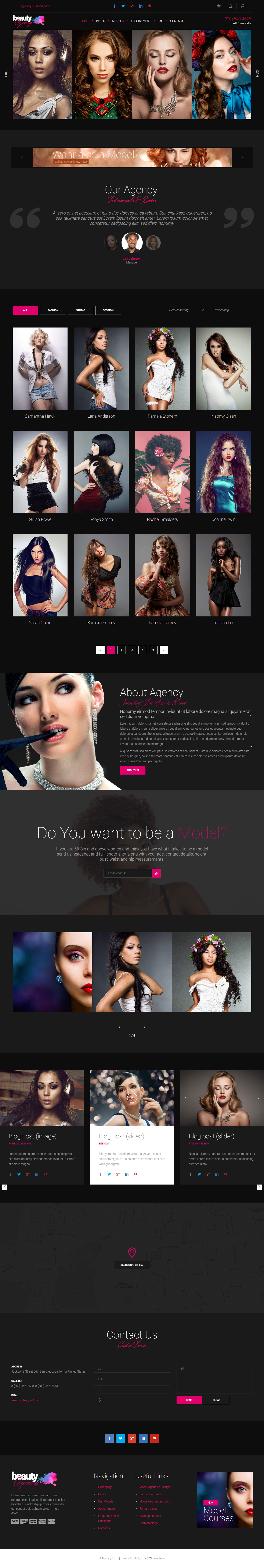 20 Best Responsive Fashion HTML5 Templates 2017 - Responsive Miracle