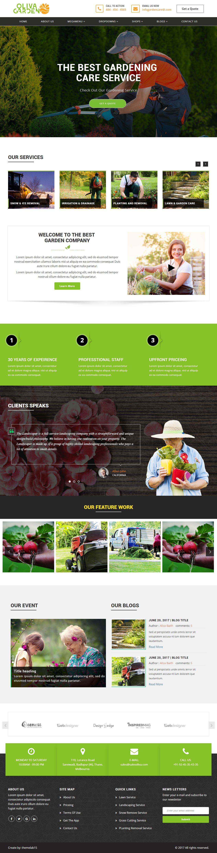 Oliva garden premium responsive garden company html5 for Home landscape design premium 17 5