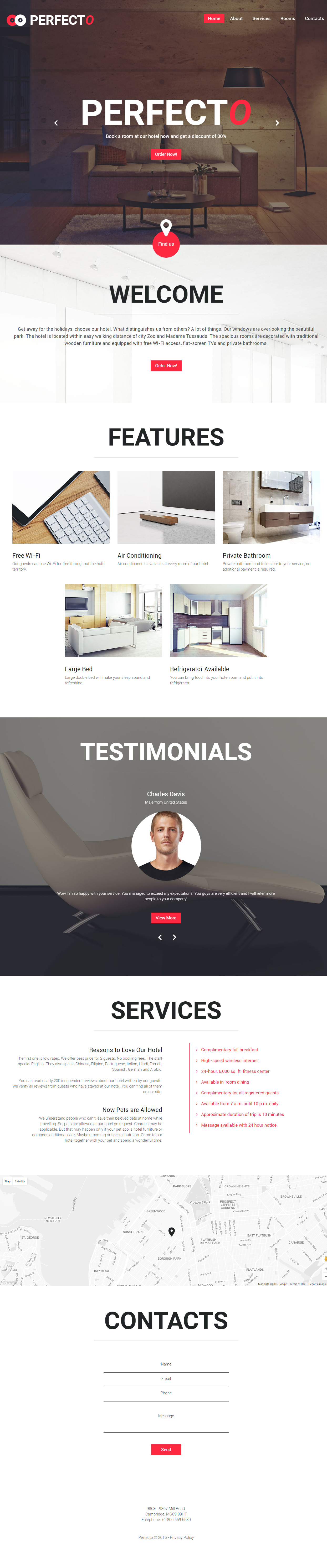 15+ Best Hotel HTML5 Templates 2017 - Responsive Miracle