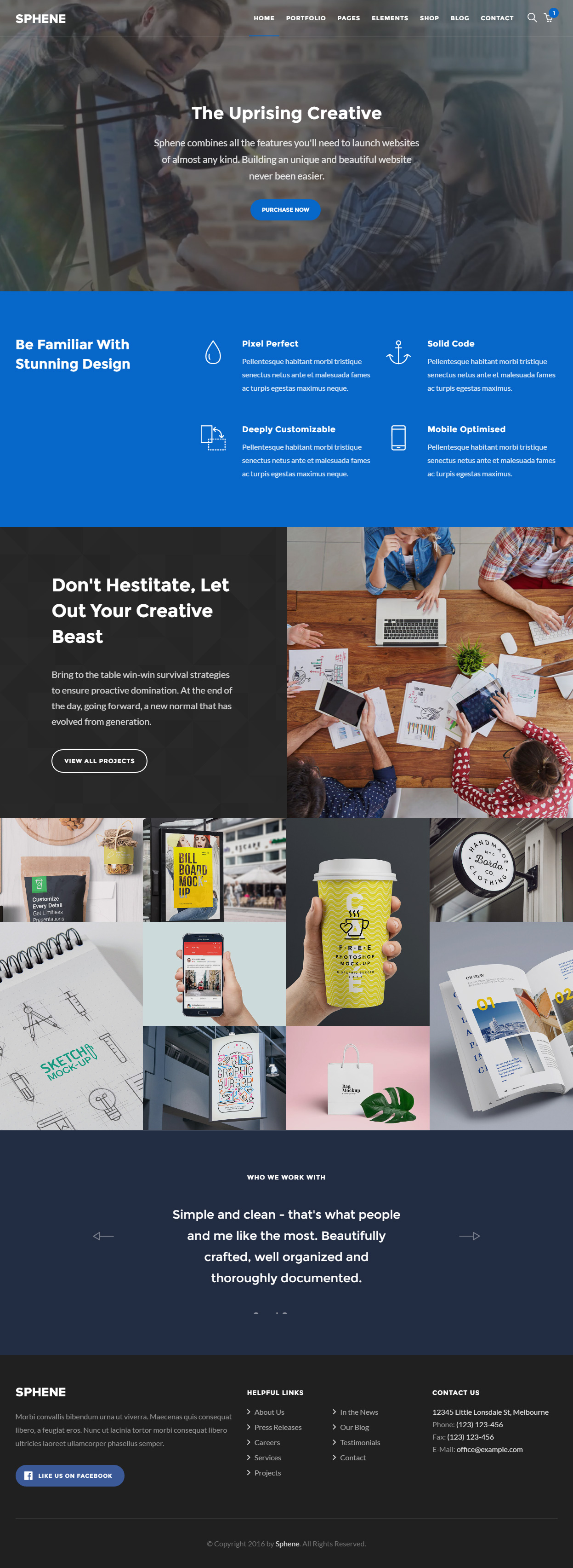 40 Best Responsive HTML5 Agency Templates 2017 - Responsive Miracle