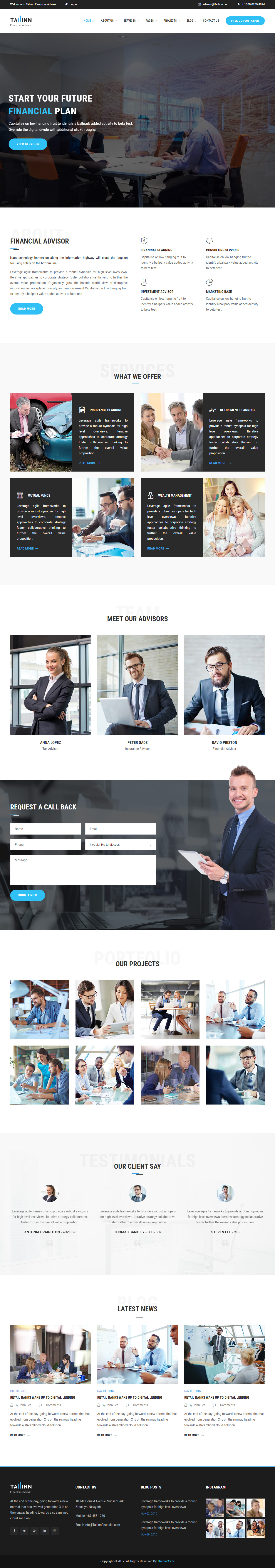 40 Best HTML5 Business Website Templates 2017 - Responsive Miracle