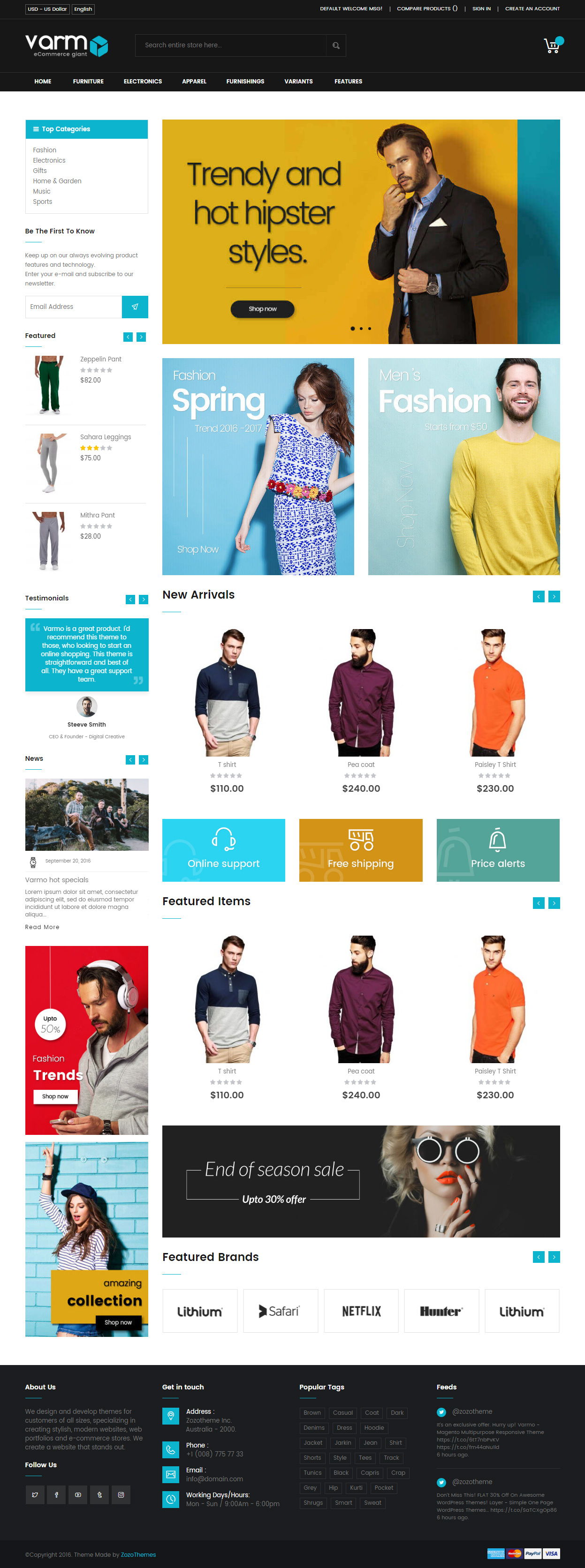 20+ Best Responsive Magento Bootstrap Themes 2017 - Responsive Miracle