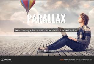 907 – Premium Responsive WordPress One Page Theme