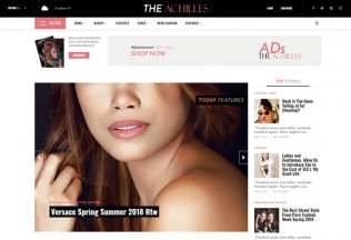 Achilles – Premium Responsive Magazine & Blog WordPress Theme