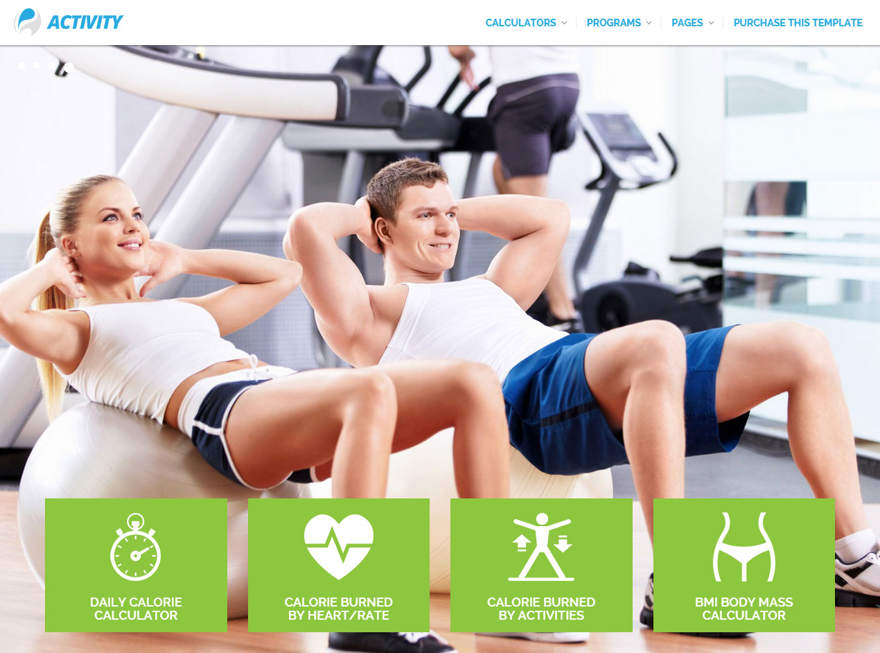 ACTIVITY HTML5 Gym And Fitness Template  Fitness Templates Free