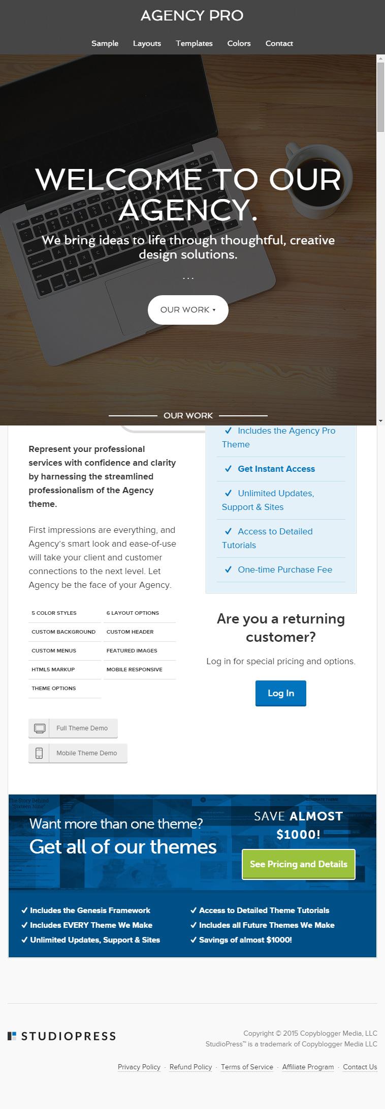 Dating agency wordpress theme