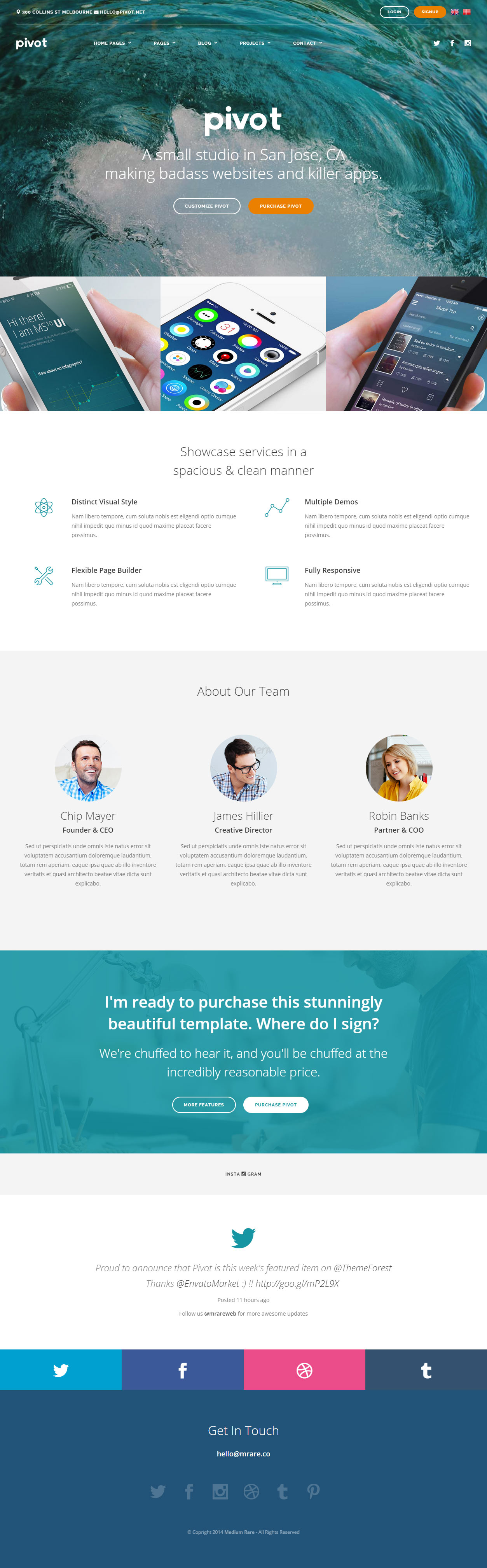 absolutly free responsive template html5