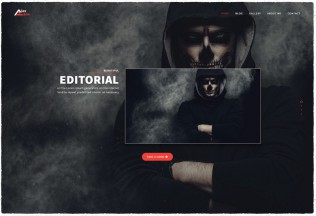 Alex Zane – Premium Responsive Clean Portfolio WordPress Theme