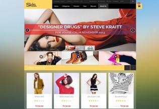 AM Skis – Premium Responsive MultiPurpose Magento Theme