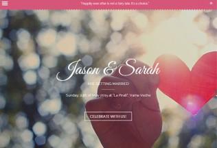 Amor – Premium Responsive Parallax Wedding HTML5 Template