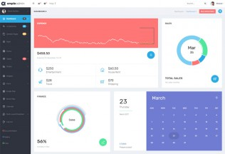 Ample Admin – Premium Responsive Dashboard Kit HTML5 Template
