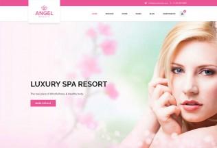 Angel – Premium Responsive Beauty Spa & Massage Salon HTML5 Theme