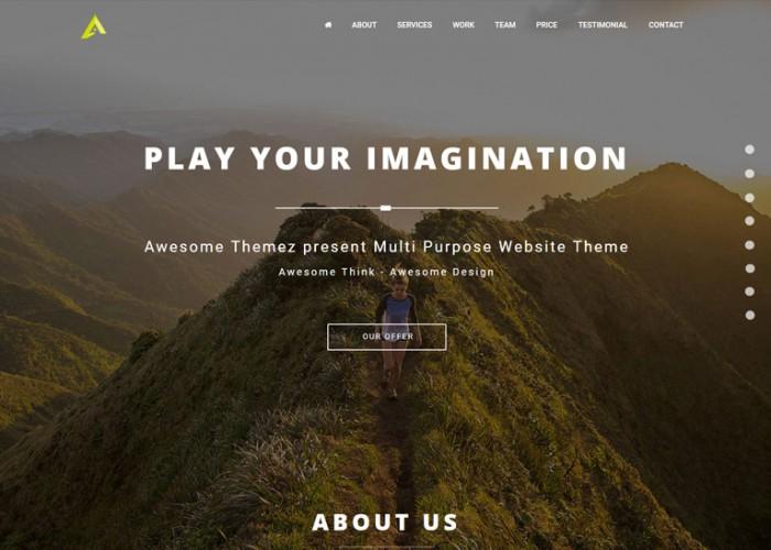Animate – Premium Responsive MultiPurpose Portfolio Muse Template