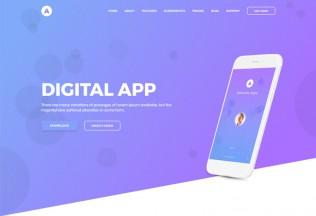 Appu – Premium Responsive App Landing Page HTML5 Template