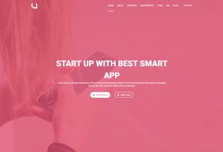 Appyou – Premium Responsive App Landing Page HTML5 Template
