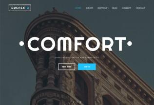 Archex – Premium Responsive Architecture HTML5 Template