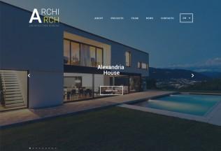 ArchiArch – Premium Responsive Architecture HTML5 Template
