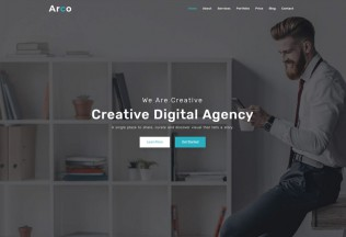 Arco – Premium Responsive One Page Parallax HTMl5 Template