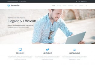 Ascendio – Premium Responsive Business & Corporate Drupal Theme