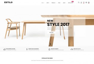 At Estilo – Premium Responsive Furniture Prestashop Theme