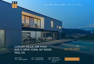 At Home – Premium Responsive Real Estate WordPress Theme
