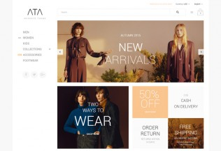 Ata – Premium Responsive Fashion Magento Theme