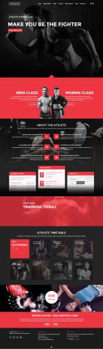 5+ Best Responsive Sport HTML5 Templates 2015