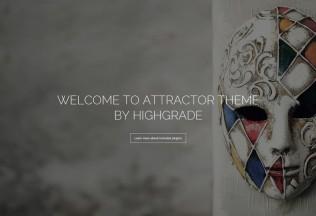 Attractor – Premium Responsive One Page Parallax WordPress Theme