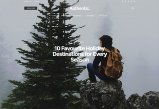 Authentic – Premium Responsive Blog & Magazine WordPress Theme