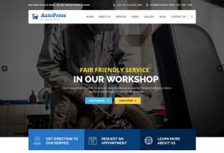 AutoPress – Premium Responsive Car Repair & Services WordPress Theme