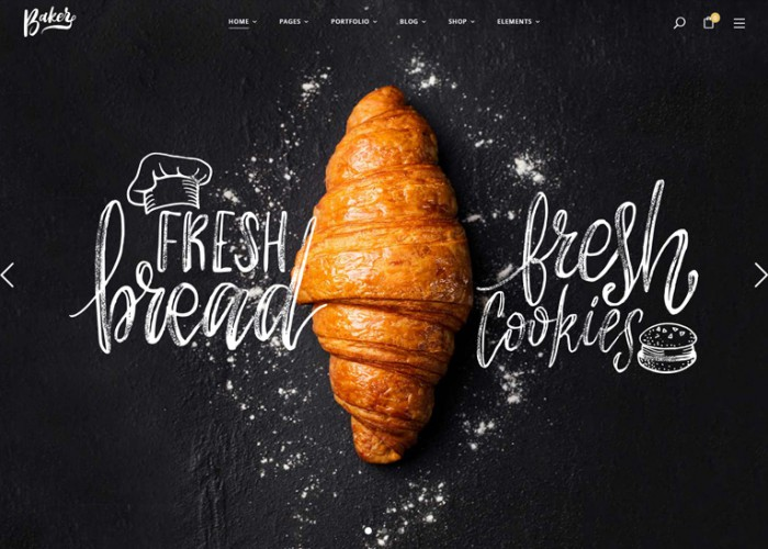 Baker – Premium Responsive WordPress Theme for Bakeries, Cake Shops, and Pastry Stores