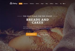 Bakery – Premium Responsive Multipurpose Bakery HTML5 Template