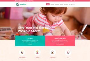 Bambini – Premium Responsive Kindergarten & Pre-School Theme