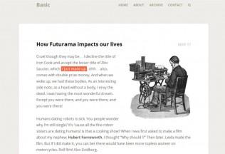 Basic – Premium Responsive Blog WordPress Theme