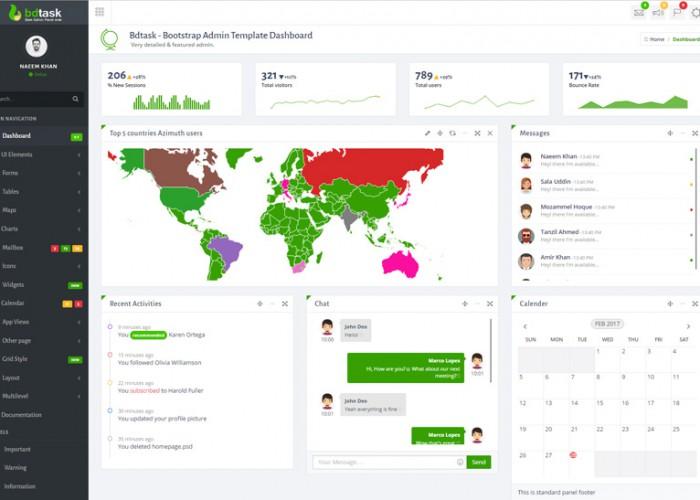 Bdtask – Premium Responisive Bootstrap Admin HTML5 Template Dashboard