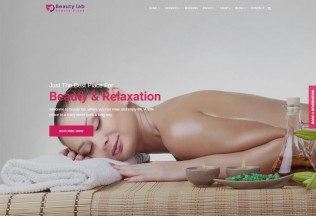 Beauty Lab – Premium Responisve Beauty & Spa HTML5 Template