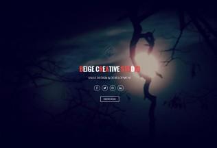 Beige – Premium Responsive Parallax One Page Drupal Theme