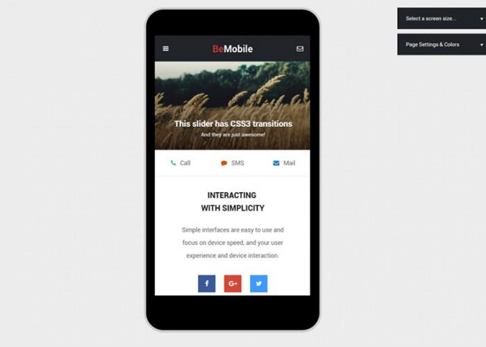 Best Premium Responsive Phonegap Themes Free Demo - Phonegap templates