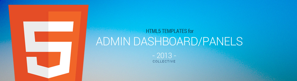 10 best responsive html5 admin dashboard panel templates in 2013