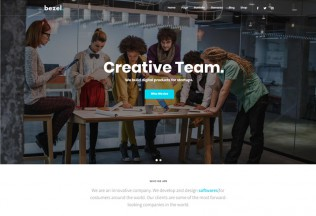 Bezel – Premium Responsive Creative MultiPurpose Drupal 8 Theme