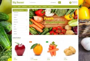 BigBazaar – Premium Responsive Multipurpose Ecommerce WordPress Theme