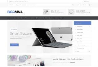 BiggMall – Premium Responsive Magento 1 & 2 Theme