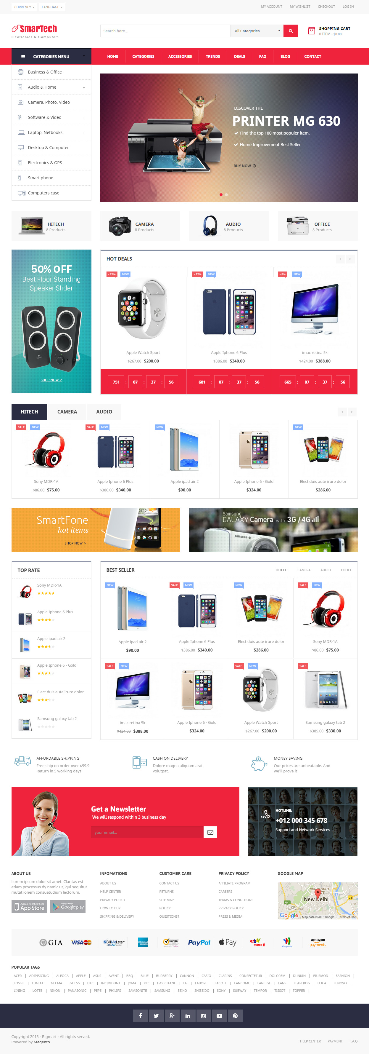 10 Best Responsive Magento Mobile Themes 2017 - Responsive Miracle