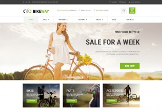 Bikeway – Premium Responsive Sport Shop WooCommerce WordPress Theme
